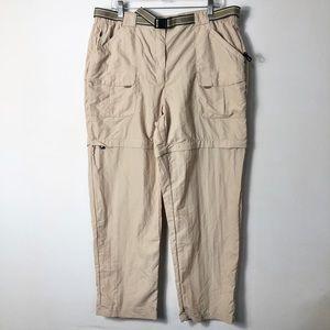 L. L. Bean men's convertible zip off nylon pants